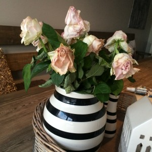 på tide å bytte blomstene?