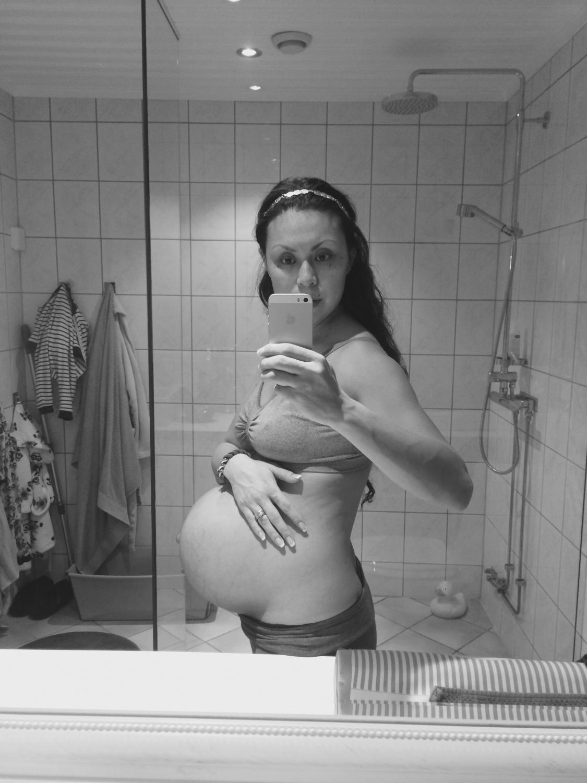 Svangerskaps update baby nr 5 Frubevershverdsg gavid