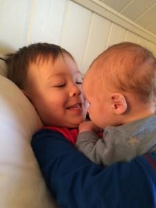 To blide brødre 💜