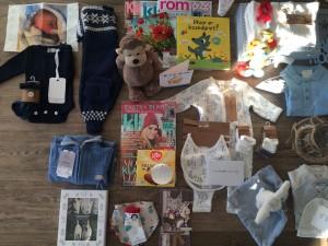 Markus har fått mange fine pakker & hyggelig kort!