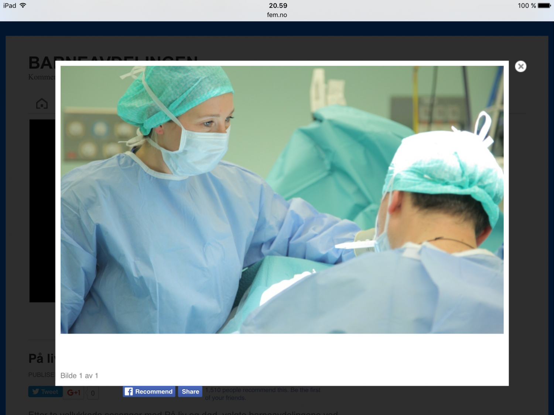 Gastroskopi / utredning