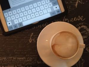 Cappuccino på kjøpesenteret ☕️