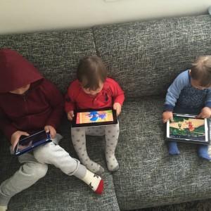 Tre sosiale gutter ...