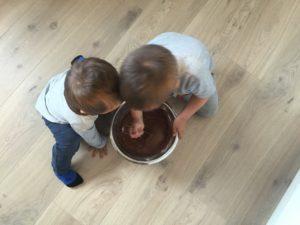 Mine små hjelpere 🍰
