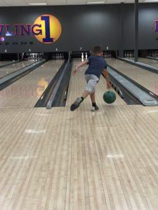 Daniel har bowling stilen inne!