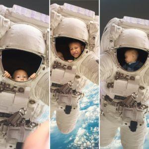 astronauter - store & små!