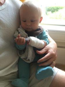 En sliten gutt 💙