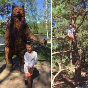 """Daniel blir """"jaget"""" av bjørnen!"""