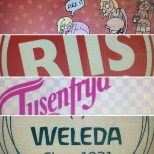 Kos og Kaos, Riis Bilglass, Tusenfryd og Weleda er med!