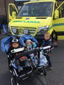 Ambulanse er også populært 🚑