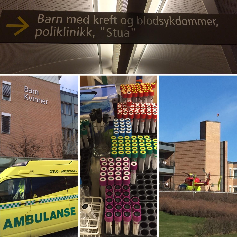 Rikshospitalet - kreftkontroll #Nevroblastom [FruBeversHverdag]