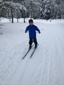 Daniel i fleksible vinterklær/skiklær ❄️