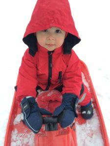 Sebastian i Kaxk vinterdressen sin ifjor ❄️