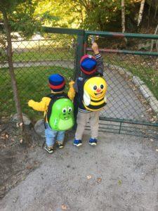 På vei til barnehagen 👣