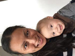 Markus og mammakropp 💙