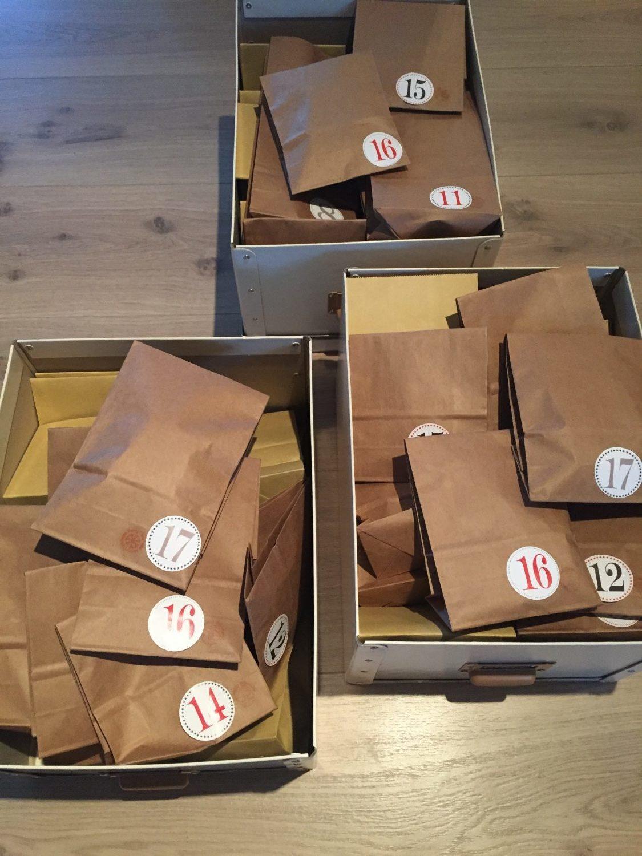 Frubevershverdag julekalender / pakkekalender til 5 barn 🎅🏻