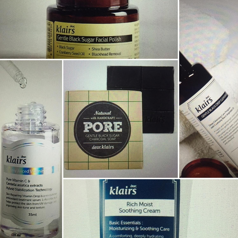 Mine fem produkter