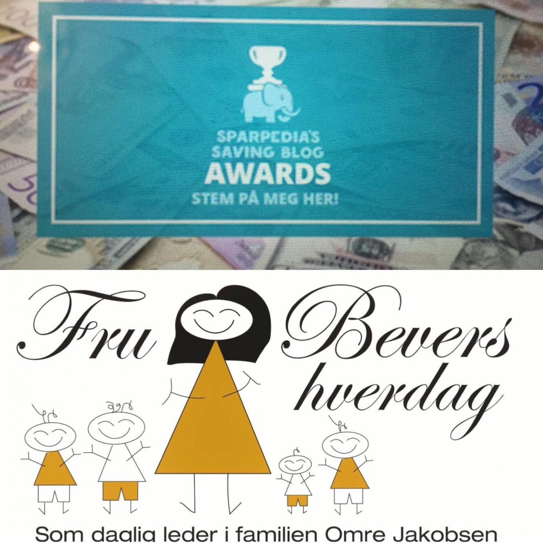 Jeg er nominert til Blog Award!