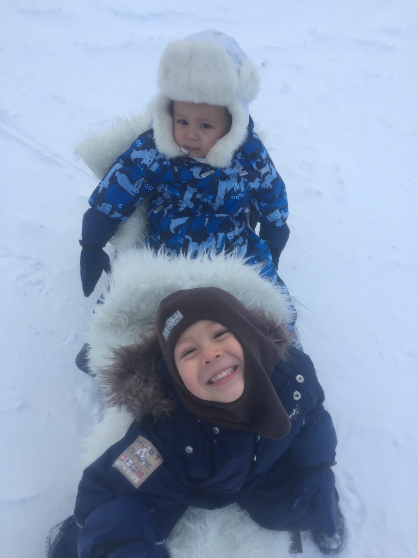 Snø er moro ❄️