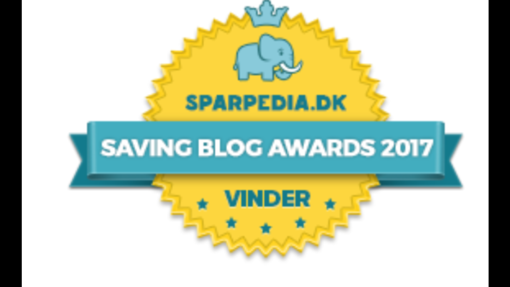 Jeg vant BLOG AWARD 2017!
