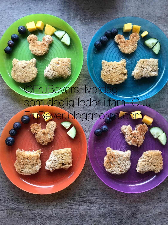 Sunt og barnevennlig frokosttips til helgefrokosten @ FruBeversHverdag