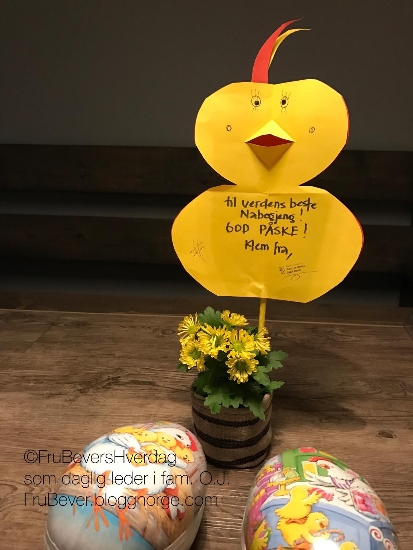 FruBeversHverdag // DIY påskepynt med barna