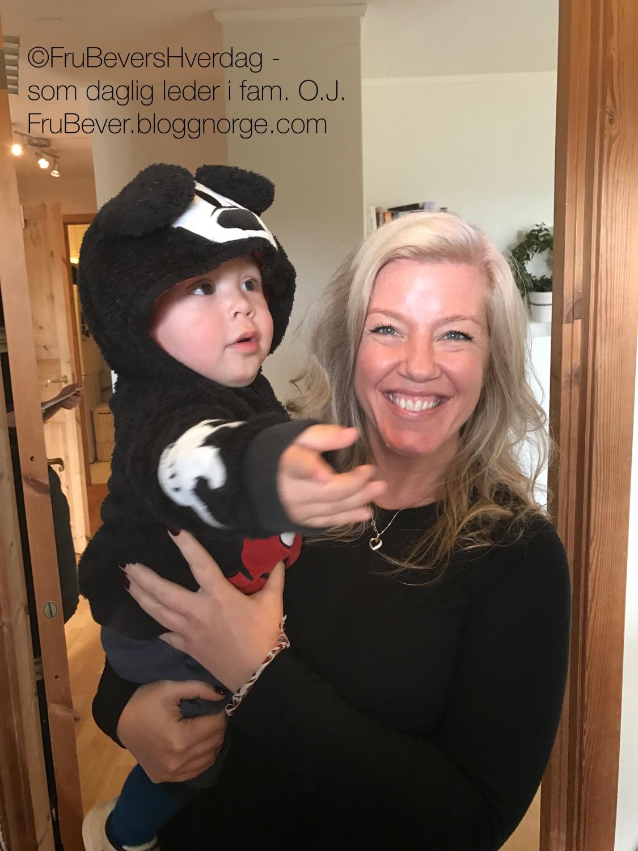 Lappeteppet Anja og jeg var på date!