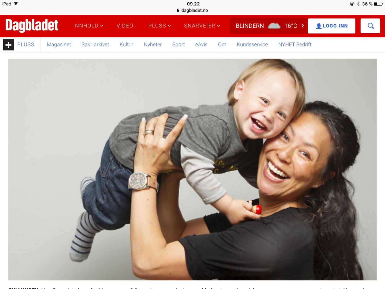 Frubevershverdag Nevroblastom BARNEKREFT i media