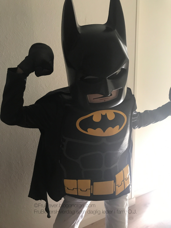 Batman kostyme barn // FrubeversHverdag