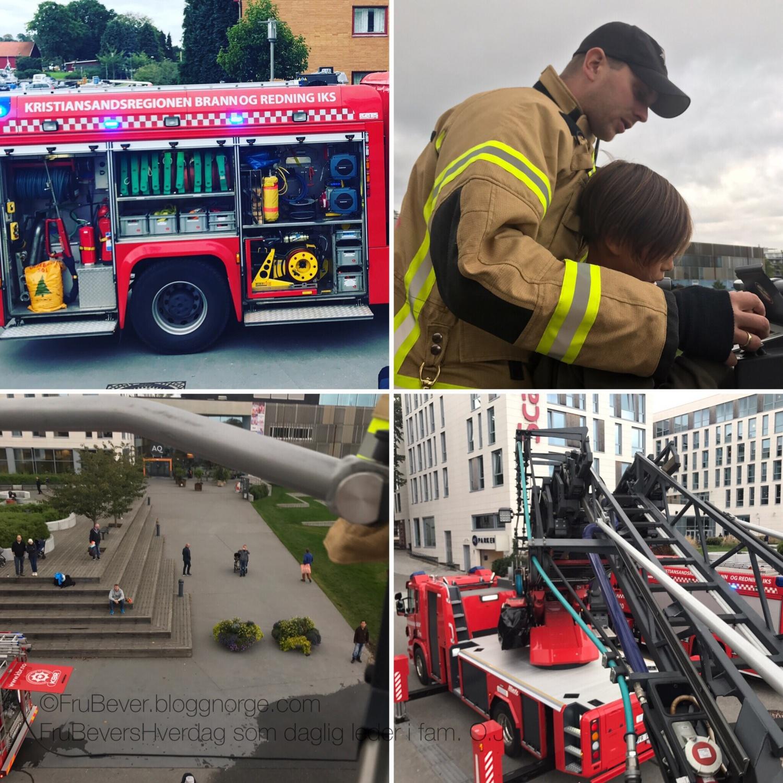 Åpen brannstasjon rett utenfor hotellet - @scandic bystranda, Kristiansand!