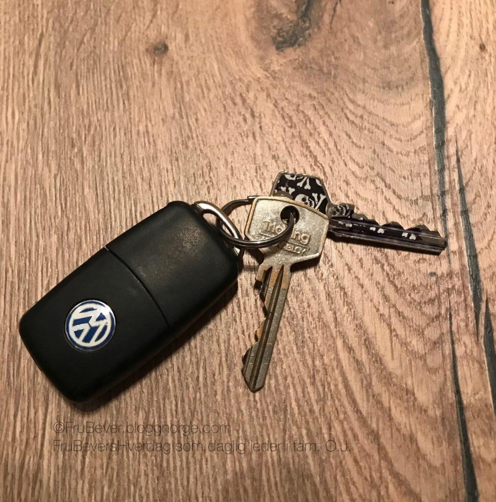 Frubevershverdag kleptoman på jakt etter bilnøklene