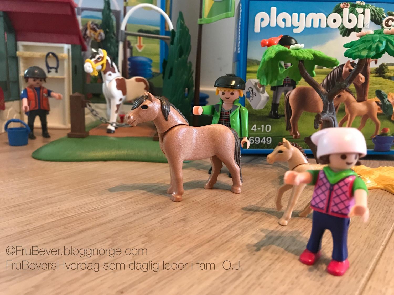 Frubevershverdag Playmobil country LIFE, ambassadør Handeland pr
