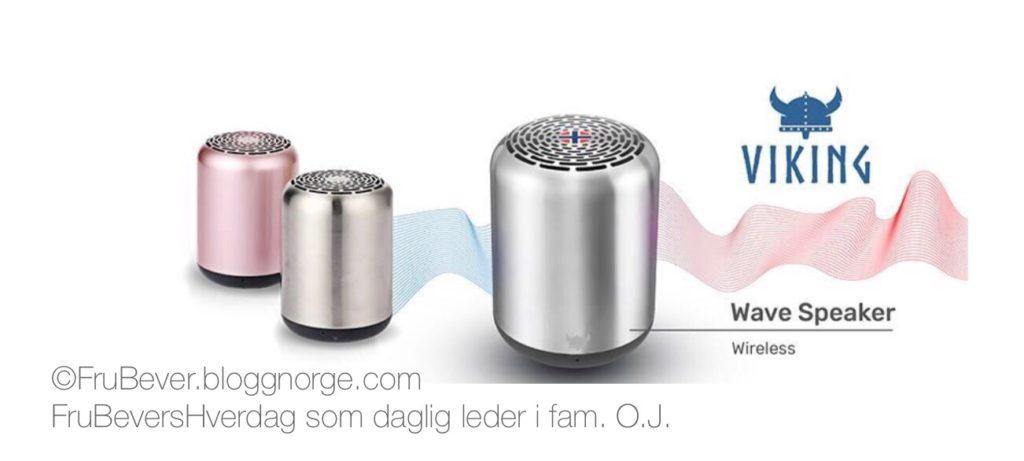 Frubevershverdag tester viking wave speaker samarbeid med noble trading AS