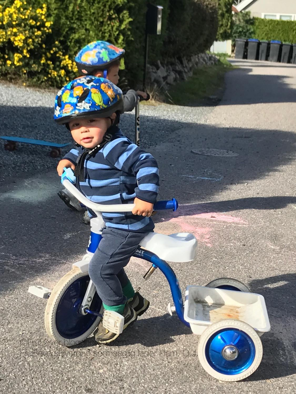 Full fart på sykler og sparkesykler - alle lærer noe nytt!
