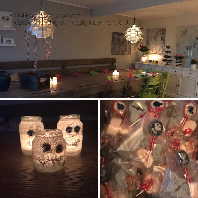 Halloween fest med små og store venner / FruBeversHverdag
