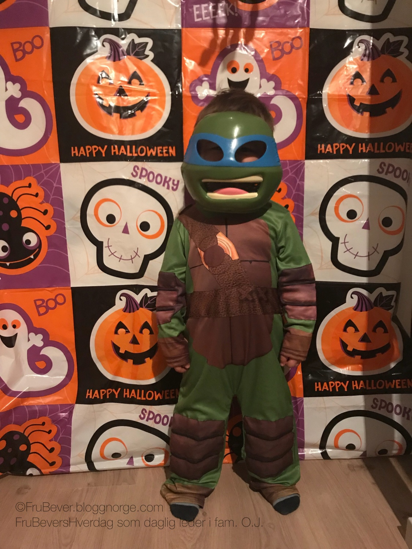 Halloween Ninja Turtles aka Jonathan / FruBeversHverdag