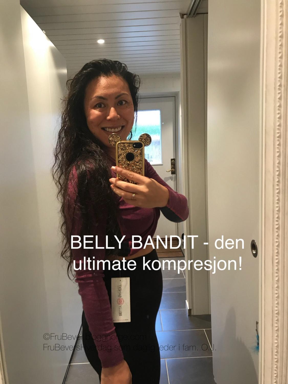 Belly Banditt leggings kompresjon før/under og etter svangerskapet!