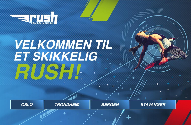 Rush trampolinepark Rosenholm