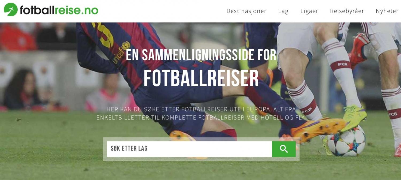 Fotballreise.no // Frubevershverdag samarbeider