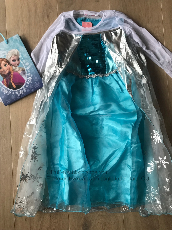 Frost Elsa kjole FruBevershverdag barnebursdag temabursdag