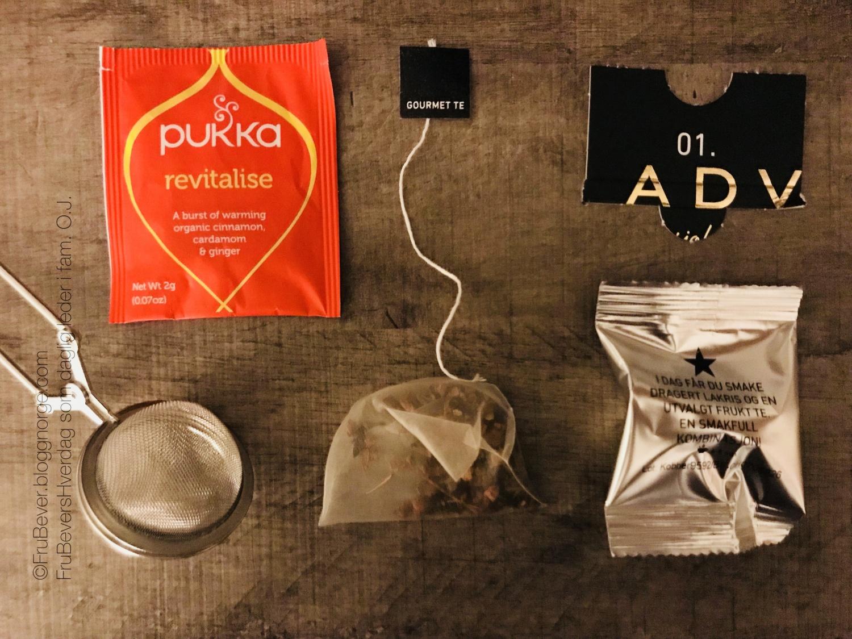 Pukka Christmas tea kalender og gourmet kalender fra Kitchen til meg!