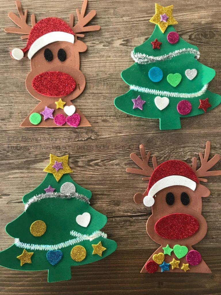 juleverksted @miniklanenen Frubevershverdag DIY aktivitet å gjøre med barn advent