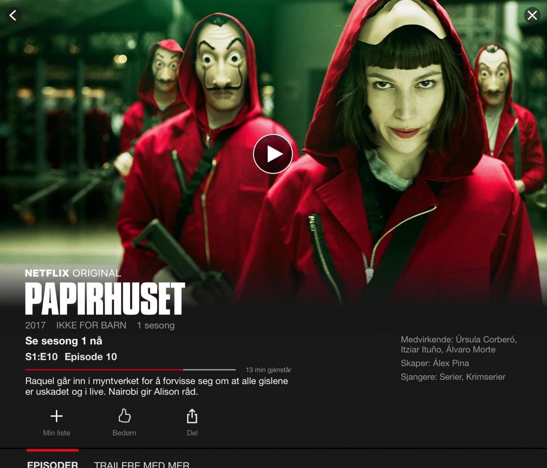 La casa de Papel / Netflix