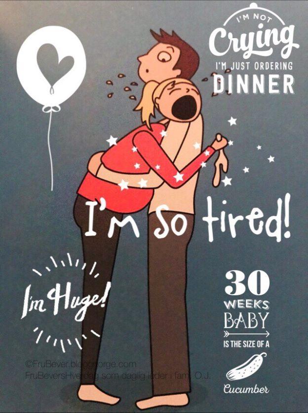 FruBeversHverdag update svangerskap nr 5 // gravid