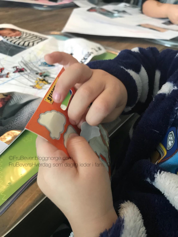 Kreativ DIY med barn // lage hus