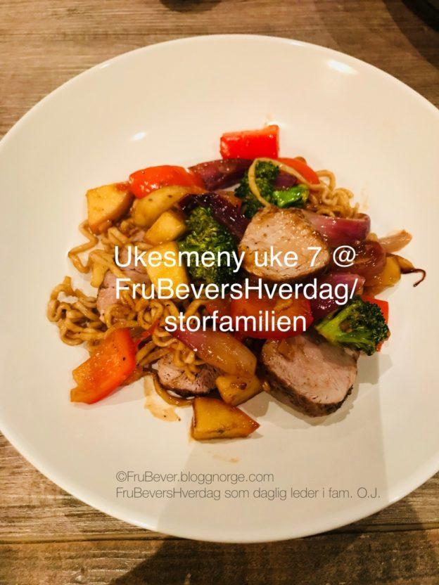 FruBeversHverdag // ukesmeny uke 7 middagstips til kresne barn
