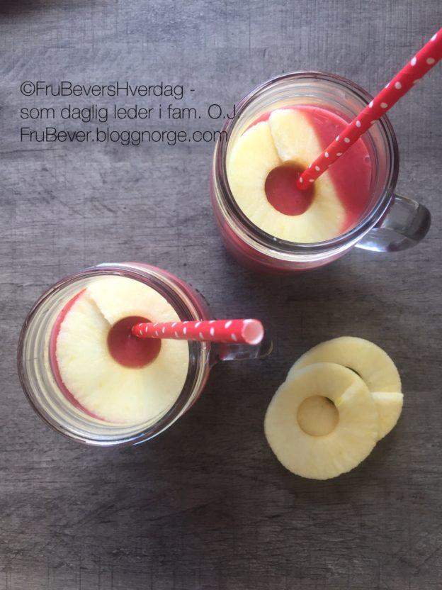 Send gjerne med en hjemmelaget smoothie også - garantert populært! Matpakketips / FruBeversHverdag