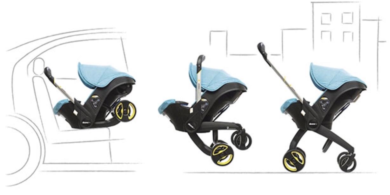 FruBeversHverdag // Doona car Seat Stroller