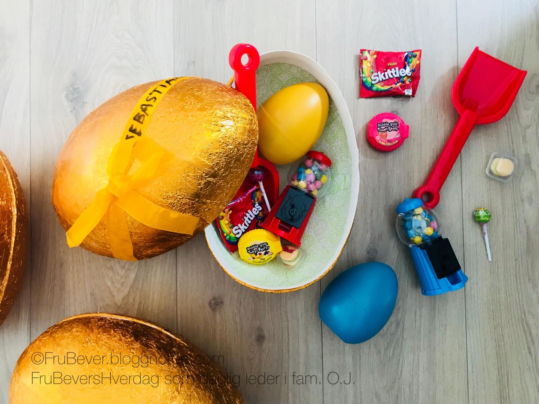 FruBeversHverdag // påsken 2018 den store eggejakten