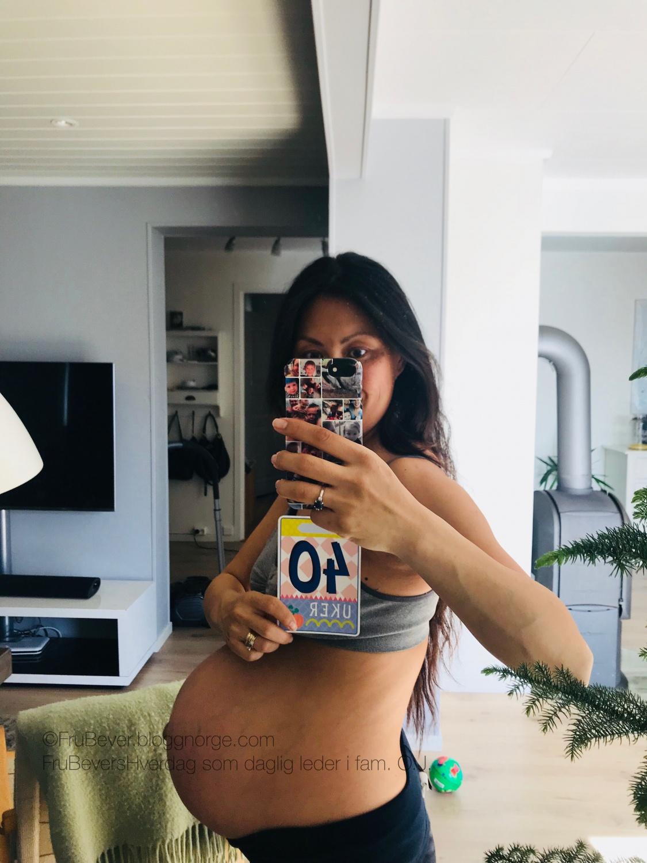 Frubevershverdag // preggo update - svangerskapsupdate baby